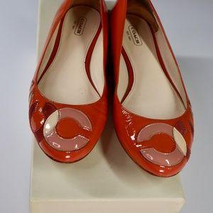 Coach Q572 Kora Ballet Flat Shoes Ballerina
